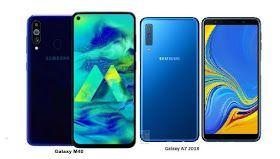 Tspn1 Samsung Galaxy M40 Vs Samsung Galaxy A7 2018 Specs Comparison Samsung Galaxy Samsung Galaxy