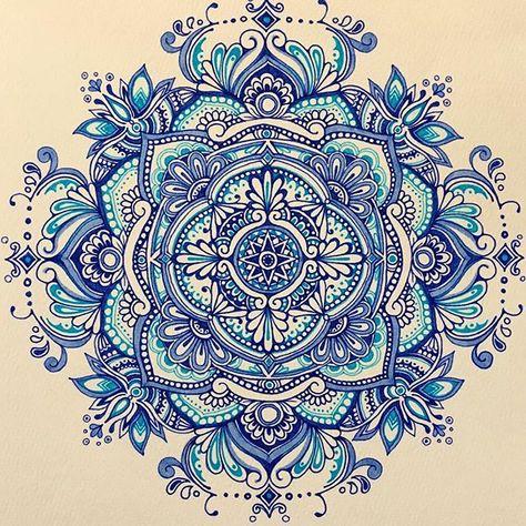CHACHA Mandala #曼荼羅 #マンダラ #絵 #手書き #handpainted #イラスト #drawing #mandala #mandalas #mandalaart #mandaladrawing #mandalaartist #color #colour…