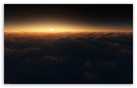 Download Sun Above The Clouds Hd Wallpaper With Images Cloud
