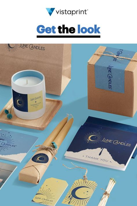 GET THE LOOK: Small Business Product Packaging   Vistaprint