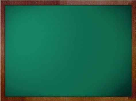 Green Chalkboard Education Powerpoint Templates Red