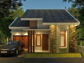 10 ide atap   rumah minimalis, rumah modern, desain eksterior