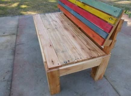 Strange Diy Outdoor Bench With Back Seating Areas 70 Ideas Diy Onthecornerstone Fun Painted Chair Ideas Images Onthecornerstoneorg