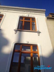Ein Fassadenanstrich muss schützen - vor allem in Bremen