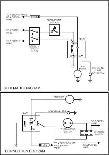 Electric Fan Relay Wiring Diagram Ceiling Fan Wiring Electricity Electric Fan