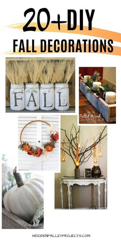 23 Amazing Diy Fall Decorations Ideas Fall Decor Diy Diy Fall Fall Decor
