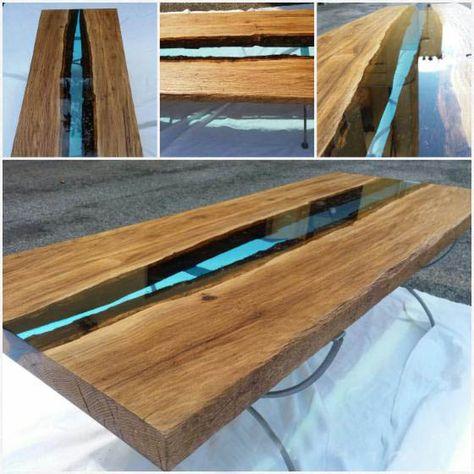 Costruire Tavolo Legno Per Esterno.Come Costruire Tavoli E Tavolini In Legno Con Resina Epossidica