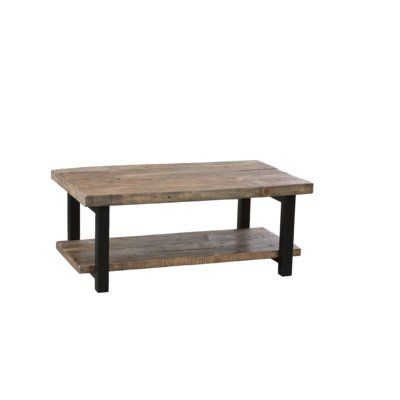 Enjoyable Loon Peak Somers 42 Wood Metal Coffee Table Wayfair Ibusinesslaw Wood Chair Design Ideas Ibusinesslaworg
