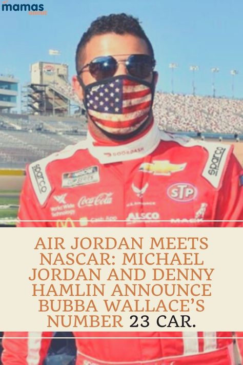 In what has already been an emotional year for Bubba Wallace, he's joining Michael Jordan and Denny Hamlin's news NASCAR team. #MichaelJOrdan #BubbaWallace #Nascar