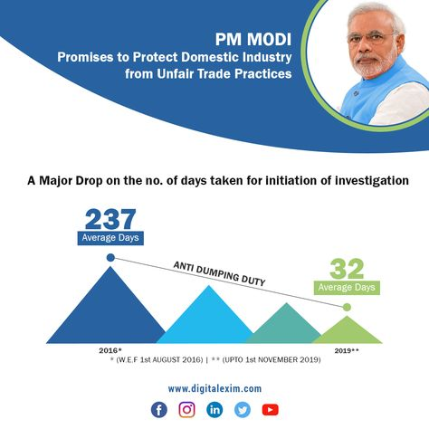 Indian #Government is back to action to strengthen several #trade #remedial measures.   #narendramodi #indiangovernment #pmmodi #exim #importexport #digitalexim #import #export