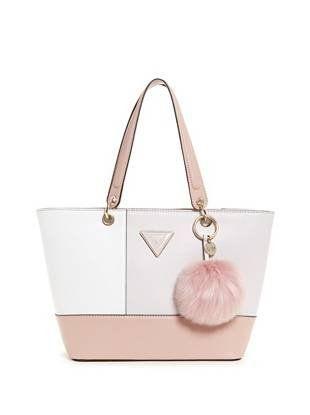 Guess JAYNE TOTE Pink Bags Shopping Bags Baskets Women