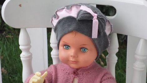 Bonnet béret chapeau  bébé fille  cadeau naissance  lin eva kids  velours cae6d84d976