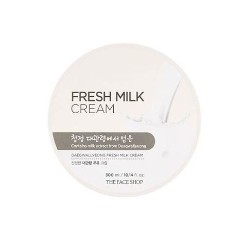 73026dae75 $11.2 - [The Face Shop] Daegwallyeong Fresh Milk Cream 300Ml - Korea  Cosmetic #ebay #Fashion