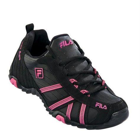 a80bd6eed0 Tênis Feminino Fila. Cor  Preto com Pink. Tamanhos 34  35  36  37  38  39.