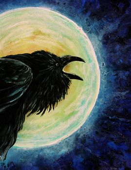 witch Raven's Call by Cathy...