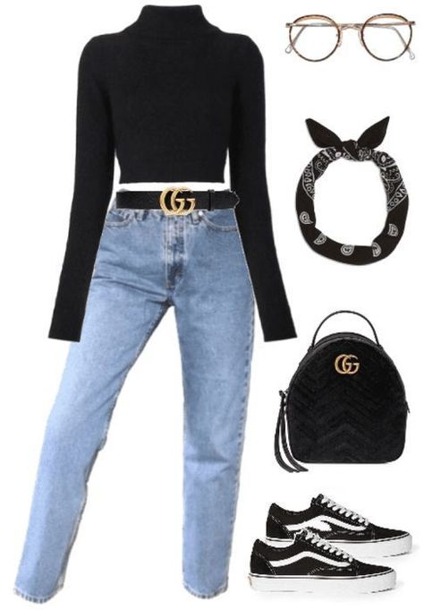 Today we are going to make a small chat about 2019 Gucci fashion show which was in Milan. When I watched the Gucci fashion show, some colors and clothings. Teen Fashion Outfits, Mode Outfits, Outfits For Teens, Winter Outfits, Fashion Clothes, Fashion Ideas, Gucci Outfits, Women's Clothes, Casual Teen Fashion