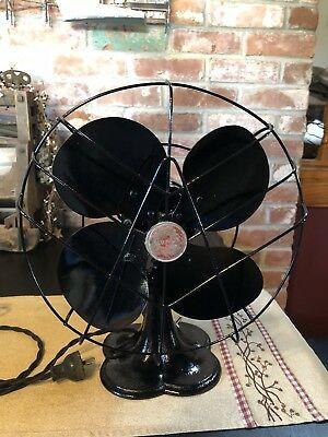 Ebay Ad Link Vintage 10 Emerson Junior Jr Oscillating Fan 2650 F Cast Base Works Great Vintage Radio Wooden Case