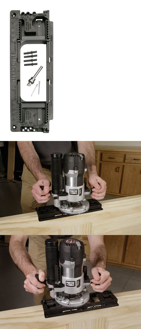 PORTER-CABLE Door Hinge Template, 59370, New | Routers and Joiners ...