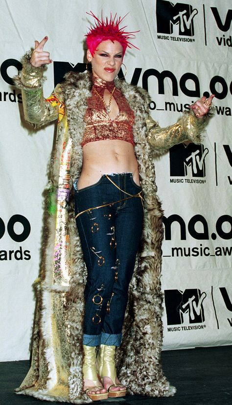 And then there's this little number Worst Celebrity Outfits From The Millennium Decade