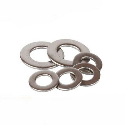 4 6 8 3 16 10 12 1 4 5 16 1 1 2 304 Stainless Steel Flat Washers Gasket Meson Flat Washer Steel Washer