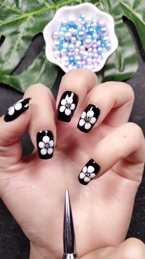Simple nails art design video Tutorials Compilation Part 119 - #compilation #design #nails #simple #tutorials #Video - #New