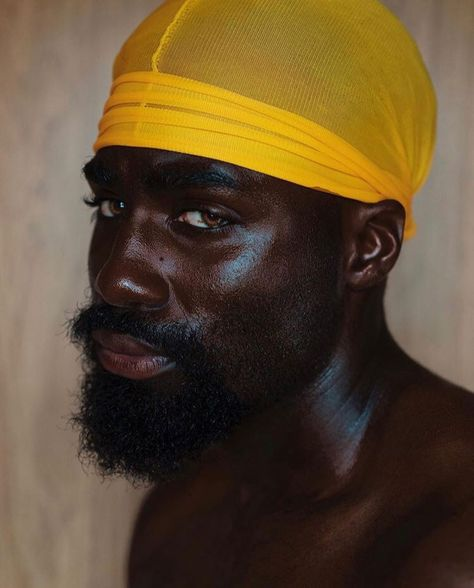 """Faces Of The Durag""""I've been wearing durags since I was a little boy. I've always seen men in my community wearing durags as a sense of 'we wear this to protect our drip and our swag ( not from death or anything) lol"""" more so the desire to maintain health Fine Black Men, Gorgeous Black Men, Handsome Black Men, Black Boys, Beautiful Men, Beautiful People, Dark Skin Men, Brown Skin, Black Girl Aesthetic"""