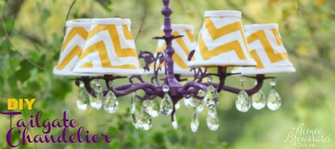 Tailgate Chandelier Diy The Best Homegate Ideas Pinterest Tailgating And Chandeliers