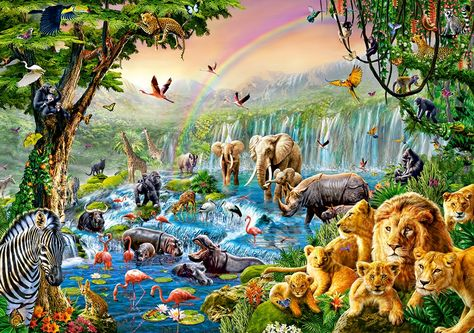 Puzzle Jungle River