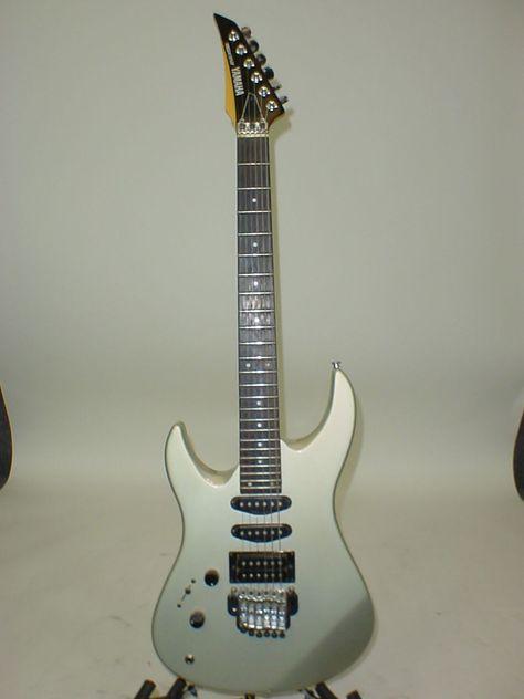 Vintage 1980 S Yamaha Rgx312 Left Handed Electric Guitar Yamaha Guitar Guitar Yamaha Electric Guitars