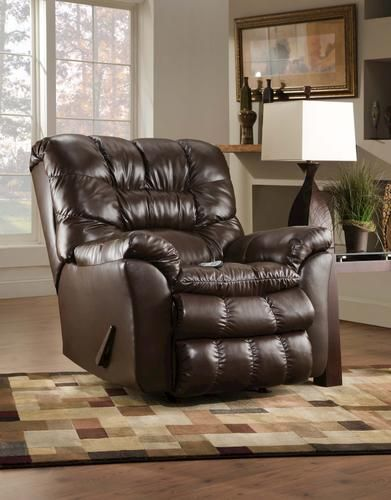 Simmons Upholstery Bonded Leather Rocker Recliner with Heat u0026 Massage - Menards | Ideas for the Home. | Pinterest | Bonded leather Recliner and Upholstery & Simmons Upholstery Bonded Leather Rocker Recliner with Heat ... islam-shia.org