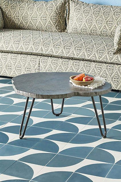 Portofino Indoor Outdoor Coffee Table Coffee Table Outdoor Coffee Tables Cement Table