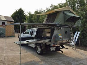 12 best dualcab canopies images on Pinterest | Caravan C&ers and C&er trailers & 12 best dualcab canopies images on Pinterest | Caravan Campers ...