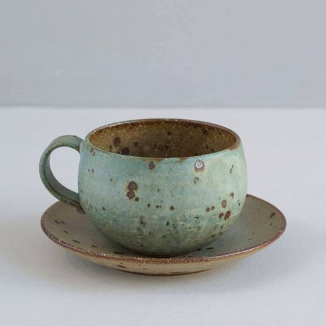 Handmade Pottery Coffee Mug Matte Maude Yellow Glazed Stoneware Gold Mug Woods Stoneware Tea Mug Unique Mug Natural Organic