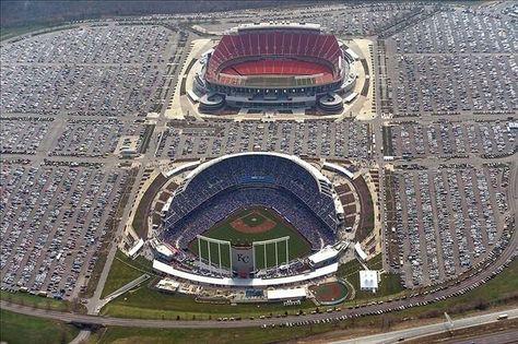 Love my stadiums! Kauffman and Arrowhead. Kansas City fans ROCK!!