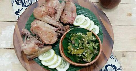 Resep Ayam Pop Sambal Cabe Ijo Oleh Martiwi Resep Resep Ayam Resep Masakan Resep