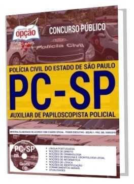 Apostila Pc Sp 2018 Auxiliar De Papiloscopista Policial