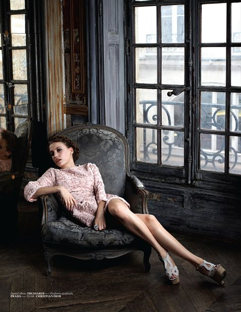 Serenay Sarıkaya by Eric Guillemain for Vogue Türkiye January 2011