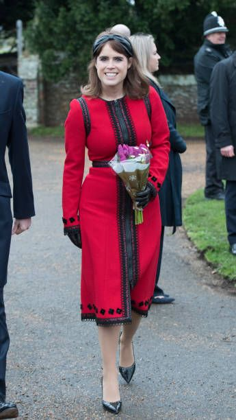 Christmas Princess 2019 Princess Eugenie of York attends Christmas Day Church service at