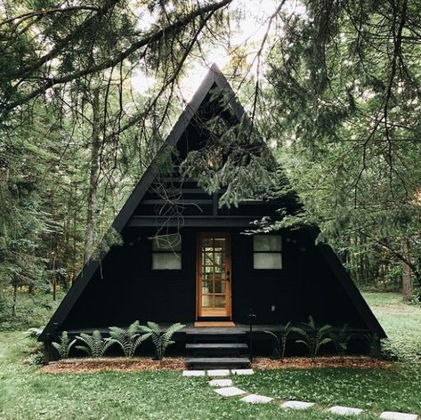 Lilla Norr | An A-Frame In the Woods | Poppytalk
