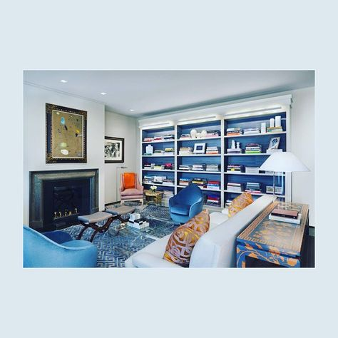 Eric Cohler Design: Interior Design Project #ericcohlerdesign #nyc #design #style #livingroom