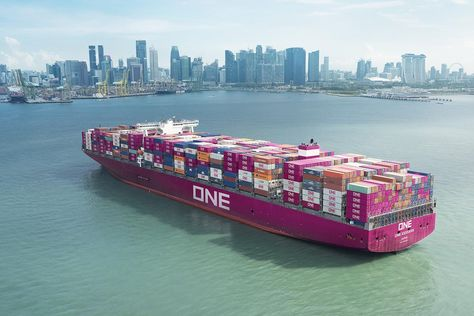 Japan S One Network Starts Business As World S Sixth Largest Container Shipping Line Barcos Y Contenedores