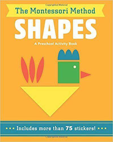 Amazon Com Shapes The Montessori Method 9781454928485