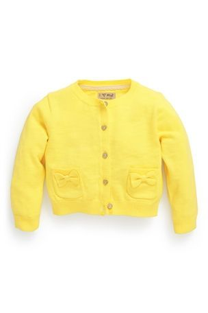 Yellow cardigan | Next (for E) | sweterek girl | Pinterest ...