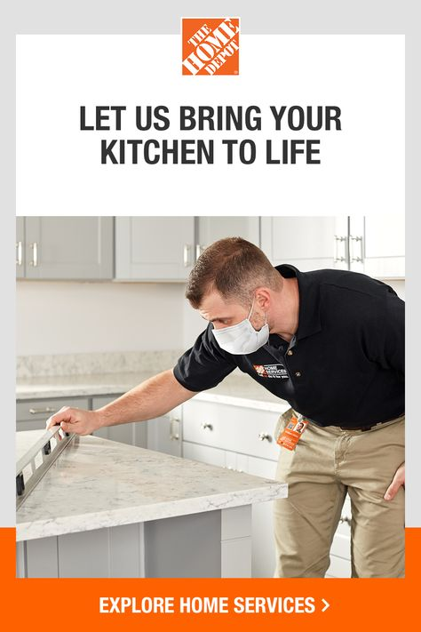 Let us bring your new home to life with the new home products and services you need. From kitchen updates to blind installation, we're here to help. Tap to find everything you need for your new home at The Home Depot. For licenses, visit homedepot.com/licensenumbers.
