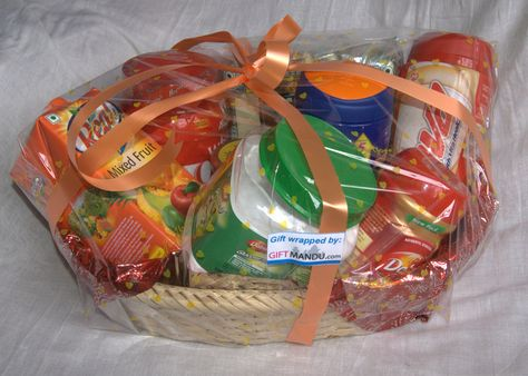 Healthy Gift Basket - Send gifts to Nepal