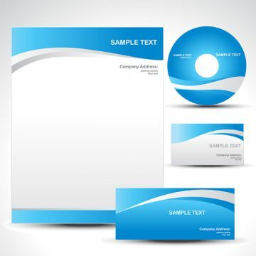 Vector Template Abstract Blank Business Png And Vector