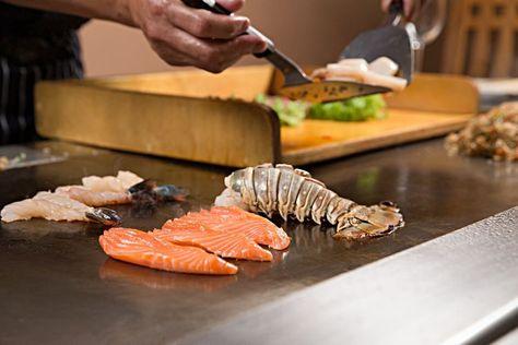 Teppanyaki Platte Plattengriller Japanisch Kochen Exotische Gerichte