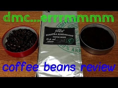 Tesco Finest Sumatra Mandheling Coffee Beans Review Coffee