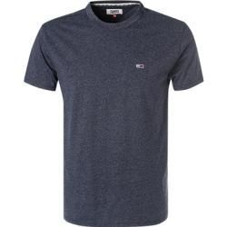 T Shirts For Men Tommy Jeans Men 039 S T Shirt Cotton Mottled Navy Blue Tommy Hilfigertommy Hilfiger Appare In 2020 Shirts Mens Tops