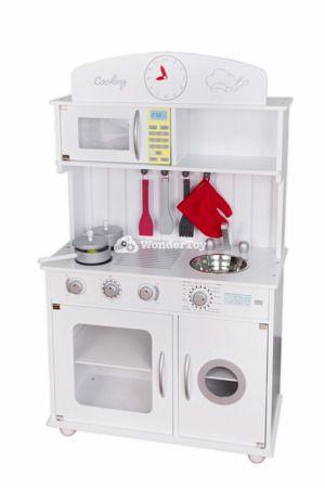 Biala Drewniana Kuchnia Dla Dzieci Modern Classic Wtk2002 Kitchen Appliances Kitchen Home